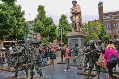 Die Nachtwache in 3D auf dem Rembrandtplein