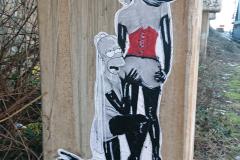 Graffiti am Deutzer Hafen