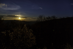Sonnenuntergang Burg Windeck