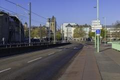 Deutzer Brücke Richtung Neumarkt