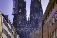 Aus der Straße Burggraben fotografiert