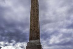 Obelisk Salustiano oberhalb der Spanischen Treppe